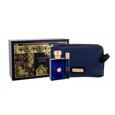 Versace Dylan Blue Eau de Toilette 100ml + Mini 10ml + Tasche