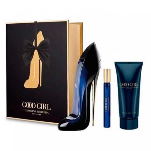 Carolina Herrera Good Girl Eau de Parfum 80ml + Body Lotion 100ml + Mini 5ml
