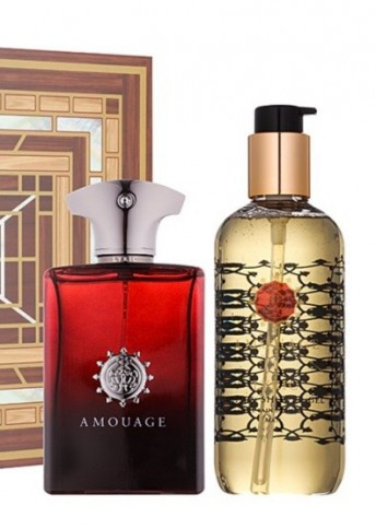 Amouage Lyric Man Eau de Parfum 100ml + Shower Gel 300ml